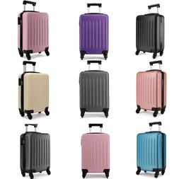 """19"""" Spinner Wheels Suitcase Travel Hard Shell Luggage Carry"""