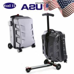 """21"""" Scooter Travel Carry Luggage Suitcase Skateboard Travel"""