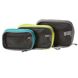 3 Pc Travelon Travel Packing Squares Cubes Toiletry Organize