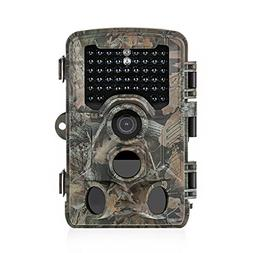 Distianert Trail Camera 16MP 1080P Wildlife Game Camera Low