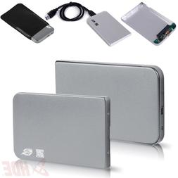 HDE Aluminum External Hard Drive Enclosure 2.5 to USB 3.0 Su