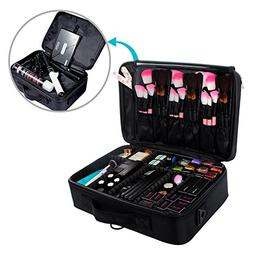 Large Travel Makeup Bag Organizer Case with Compartments Cos