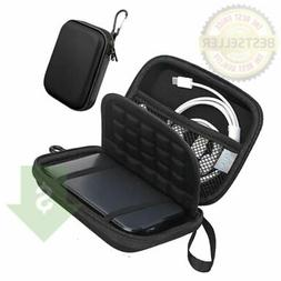 Black Lacdo Hard  Drive Carrying  Case 2.5 Inches HDD Shockp