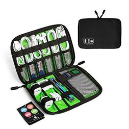 BAGSMART Travel Cable Organizer Portable Electronics Accesso