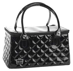 Caboodles Heart Throb Long Tapered Tote, Black Diamond, 1.12