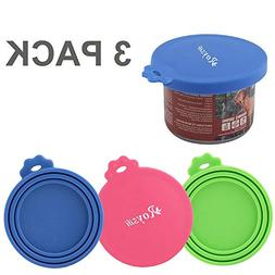 Roysili Cat Food Lid BPA Free Silicone Can Covers 3oz Can Li
