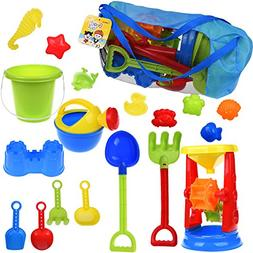 Children's Beach Toy Double Sand Wheel Summer Colorful Play