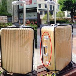 Clear Transparent Luggage Suitcase Cover Waterproof Travel C