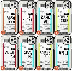 Customised South America Boarding Pass Impact Phone Case for