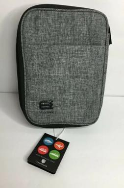 BAGSMART Double Layer Travel Cable Organizer Electronics Acc