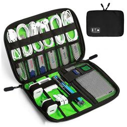 electronic accessories cable organizer bag travel usb