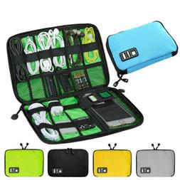 Electronic Accessories Cable Bag USB Drive Organizer Portabl