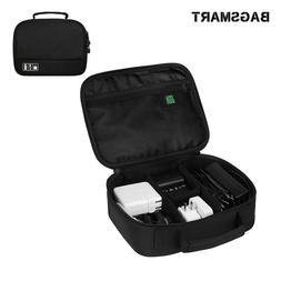 BAGSMART Electronic Accessories Organizer Charger Cable Trav