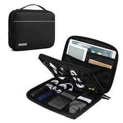 BAGSMART 2-Layer Travel Electronic Cable Organizer Cases for