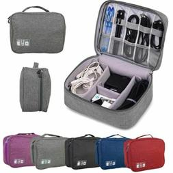 Electronics Accessories Travel Organizer Storage Hand Bag Ca