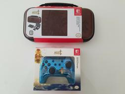 Nintendo Switch Zelda Breath of the Wild Case & Chrome Power