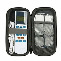Hard Travel Case for HealthmateForever YK15AB TENS unit Elec