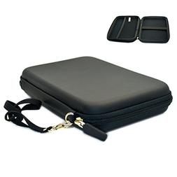 "7"" GPS Carrying Case Hard Shell Travel EVA Bag Zipper Cover"