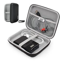 "USA Gear Hard Shell Electronic Organizer Travel Case 7.5"" In"
