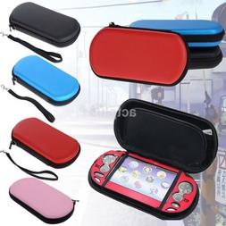 Hard Zipped EVA Pouch Travel Case Carrying Bag for Sony PSP
