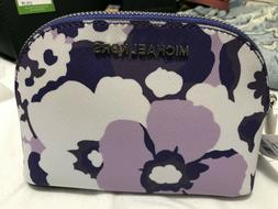 Michael Kors Jet Set Travel Pouch Cosmetic Case in Floral Sa
