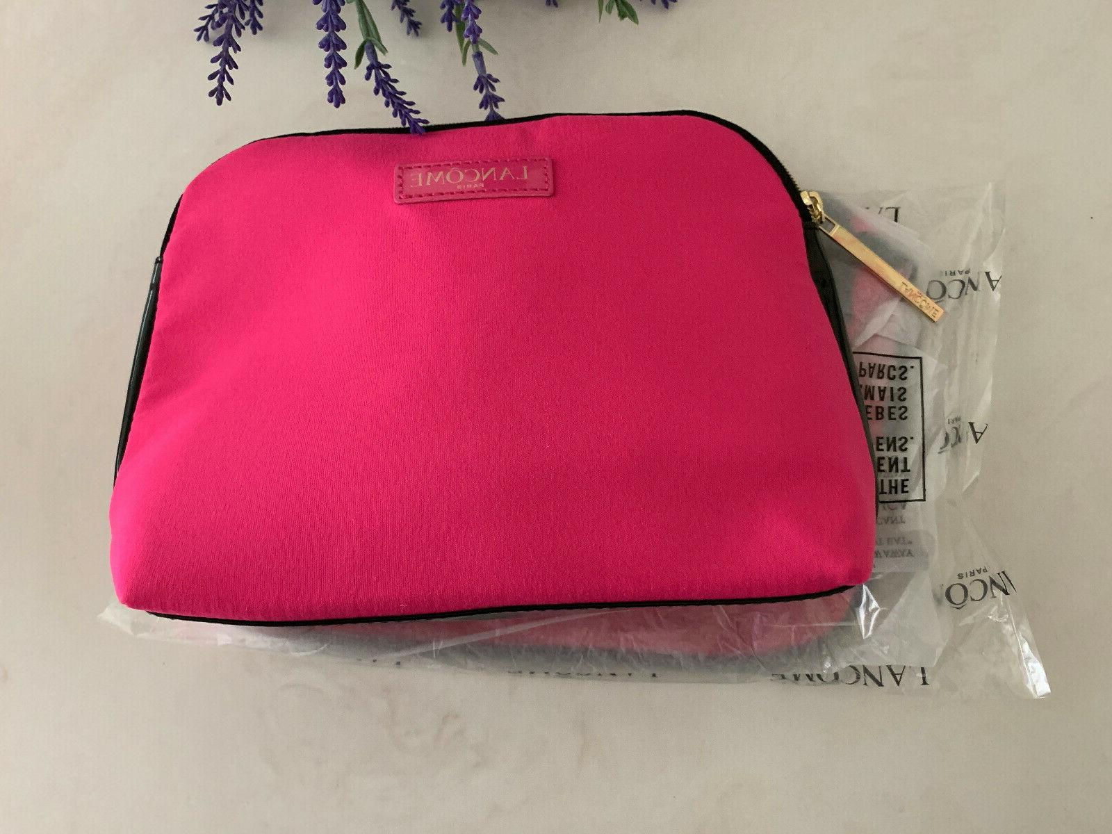 2 Cosmetic Bag PINK Approx 8 x 2.5