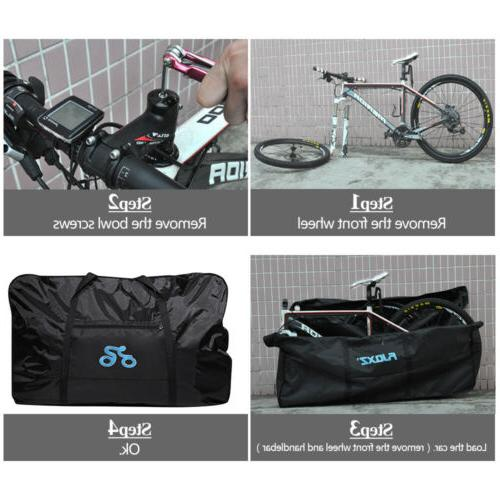 """29"""" Bag Cycling Transport Case Pouch"""