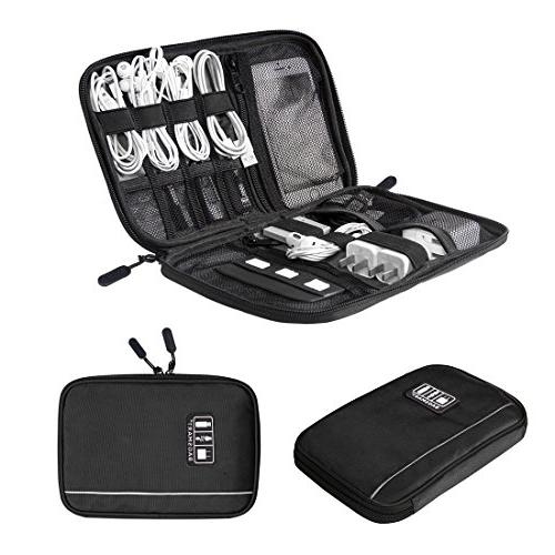 bagsmart travel universal cable organizer electronics access