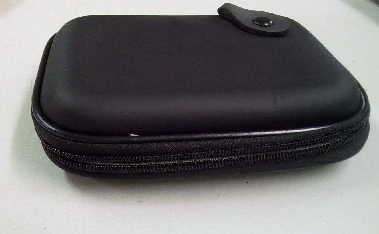 Co2CREA Black Hard Drive Travel Case 1TB 2TB New