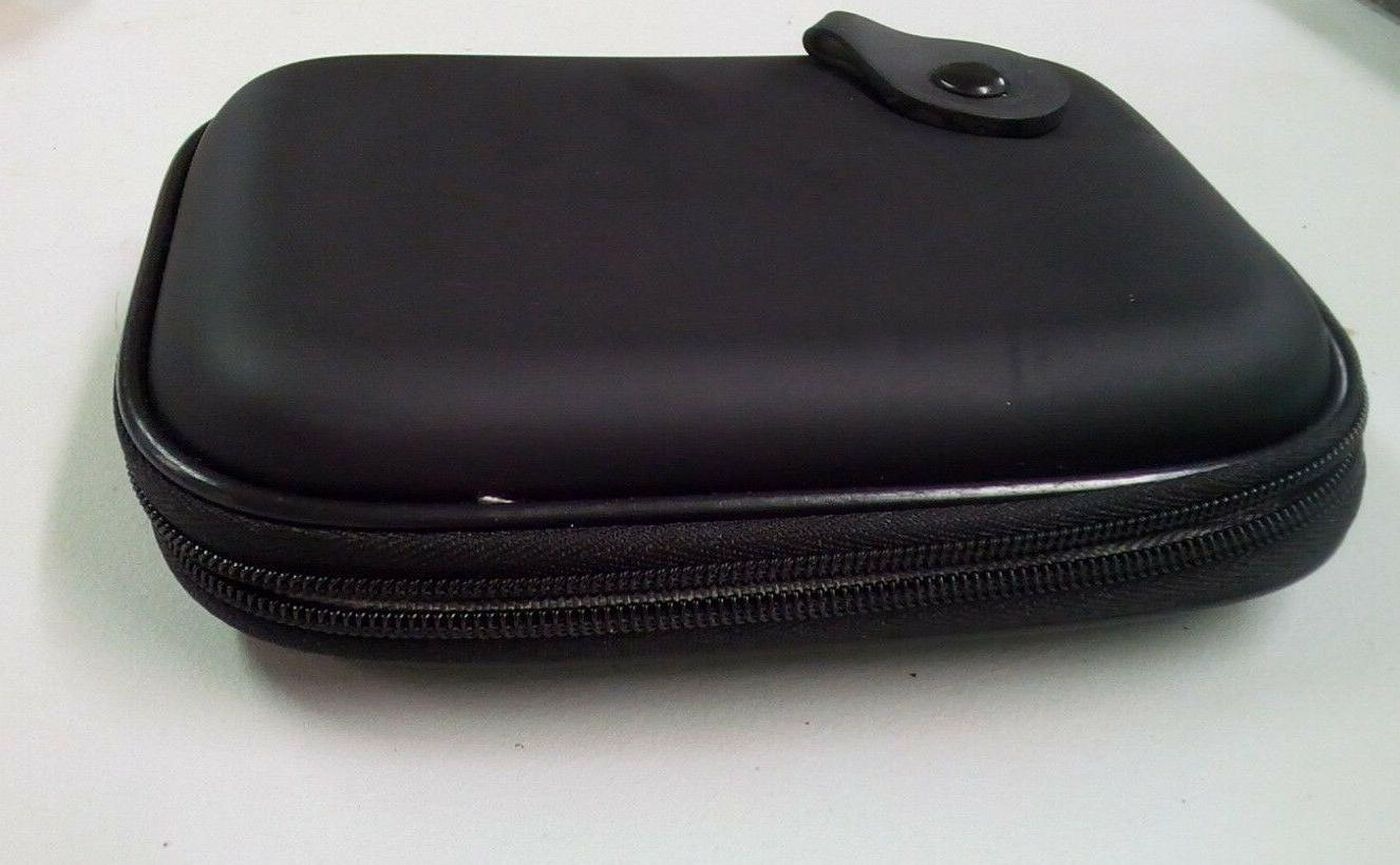 black hard drive travel case 1tb 2tb