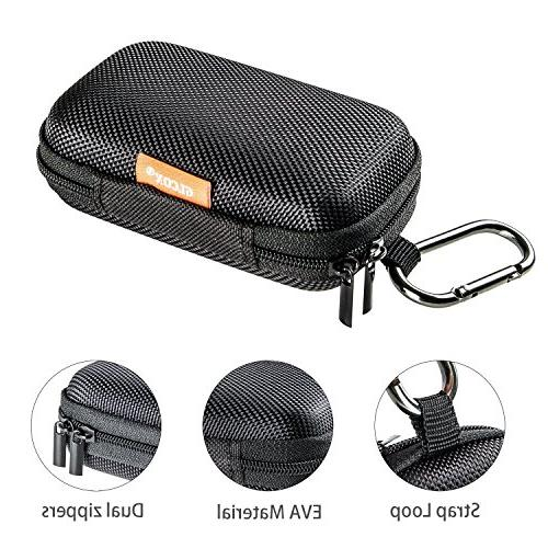 GLCON Rectangle Portable Protection Hard Inner Exterior,Lightweight Universal Carrying Wired/Bluetooth Headset Purse