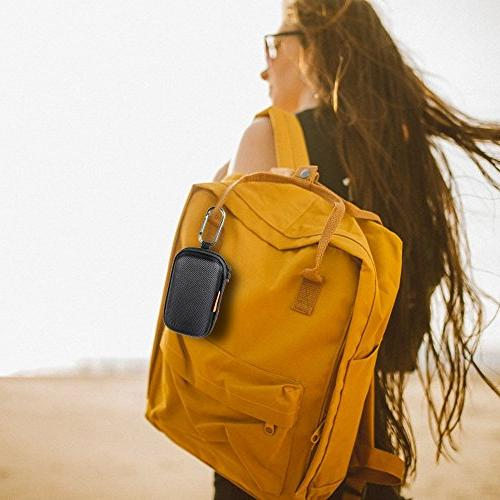 GLCON Shaped Portable Protection Hard Inner Pocket,Zipper Enclosure Exterior,Lightweight Universal Carrying Wired/Bluetooth Purse