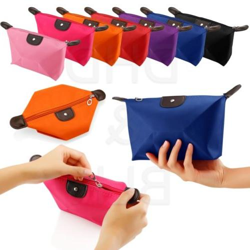 Cosmetic Bag Case Organizer Zipper Handbag Toiletry