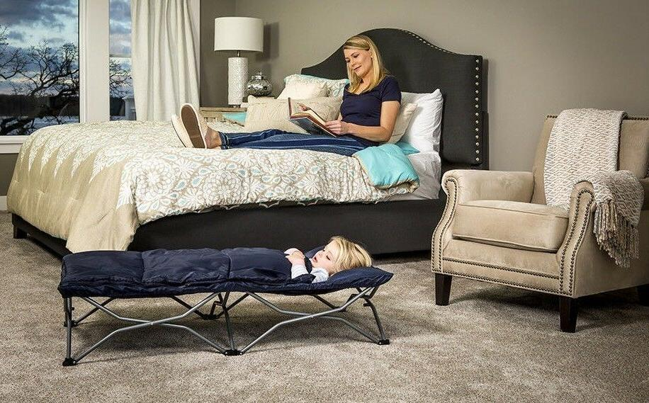 cot deluxe portable bed