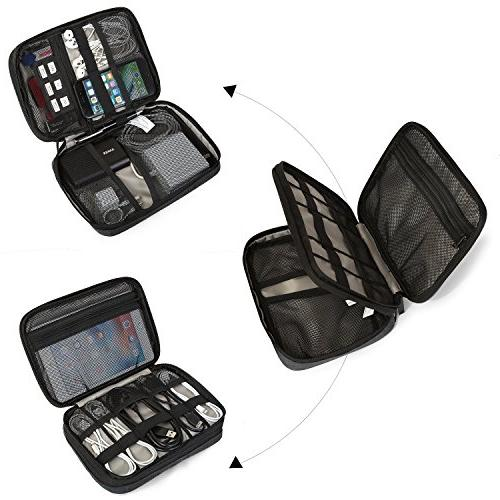 BAGSMART Organizer Accessories for Charge, Camera Charger,