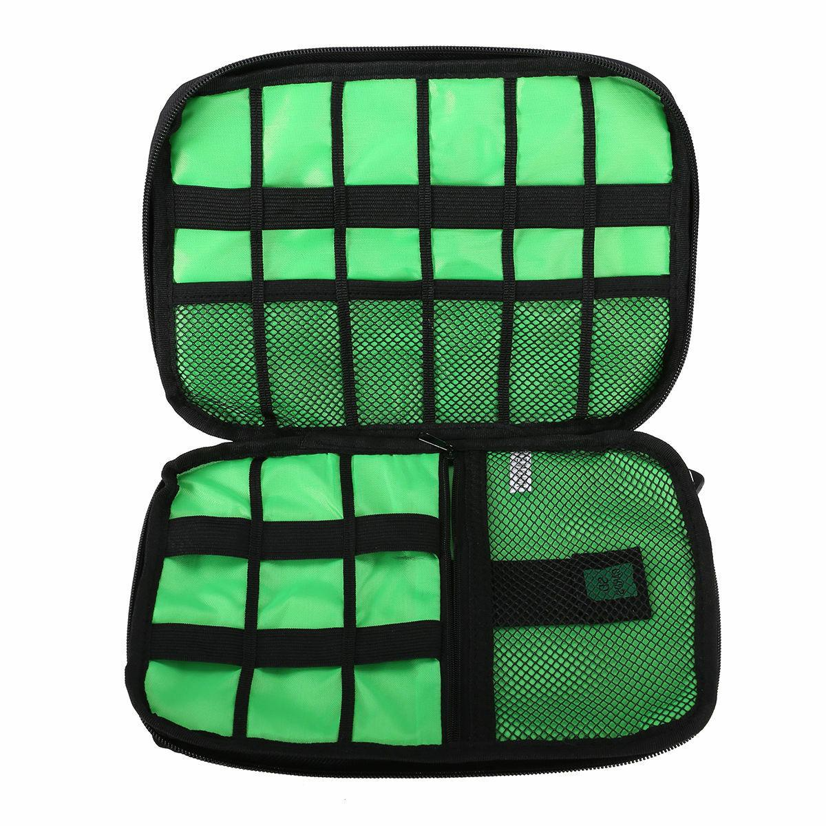 Electronic Bag USB Charger Storage Case