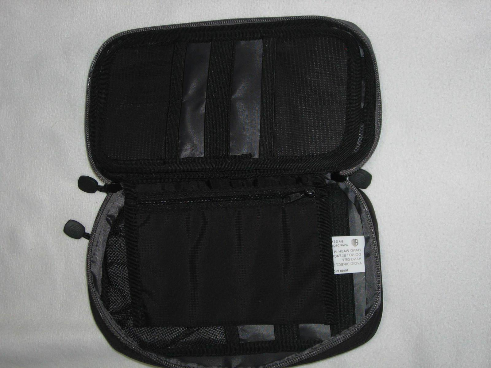 Bagsmart Electronic Cable Case 2 Tier Black NWT
