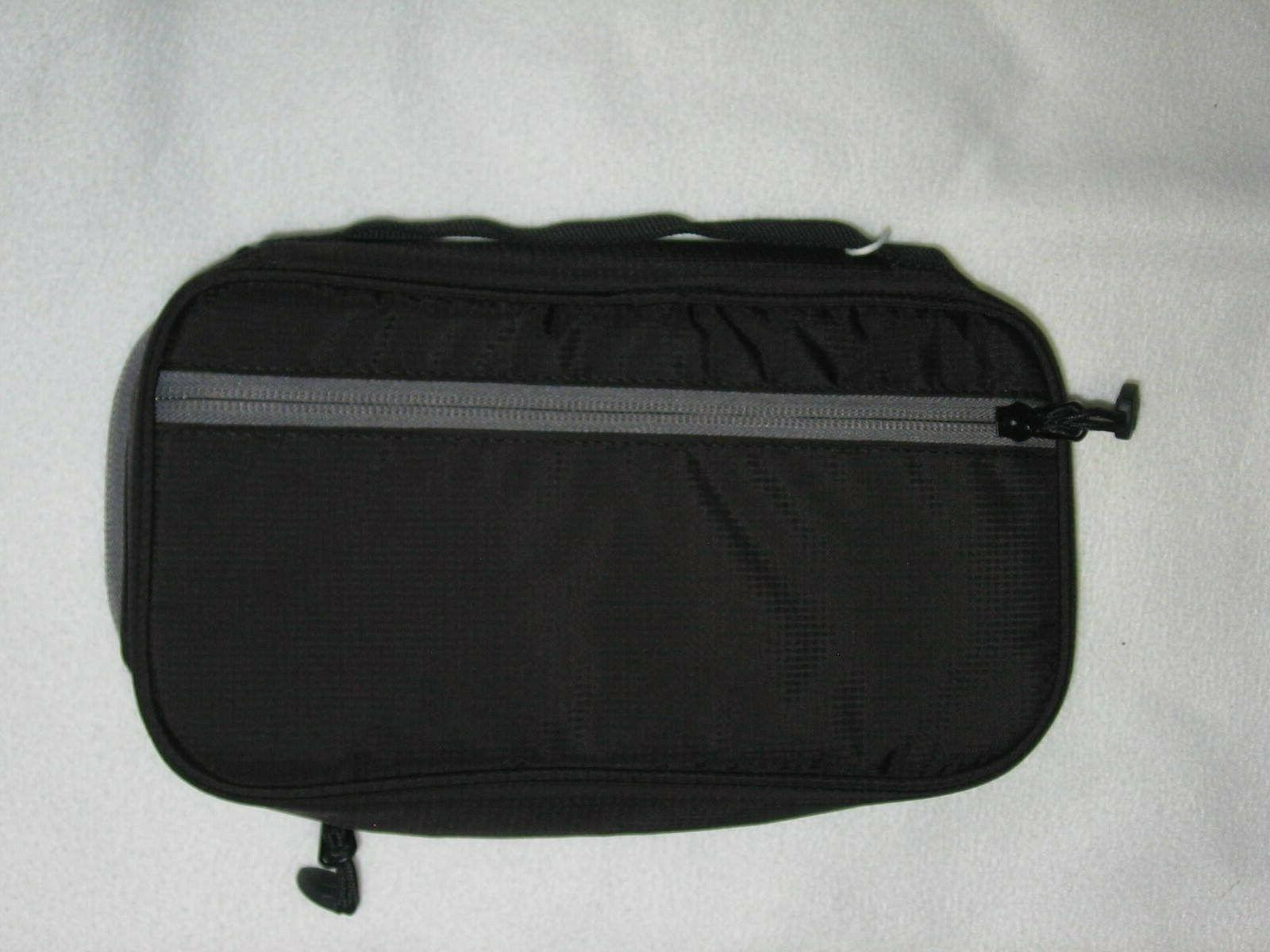 Bagsmart Electronic Organizer Cable Case 2 Tier Small Gray NWT