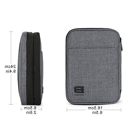 BAGSMART Travel Organizer Electronics for Kindle Charge, Camera MacBook Charger,