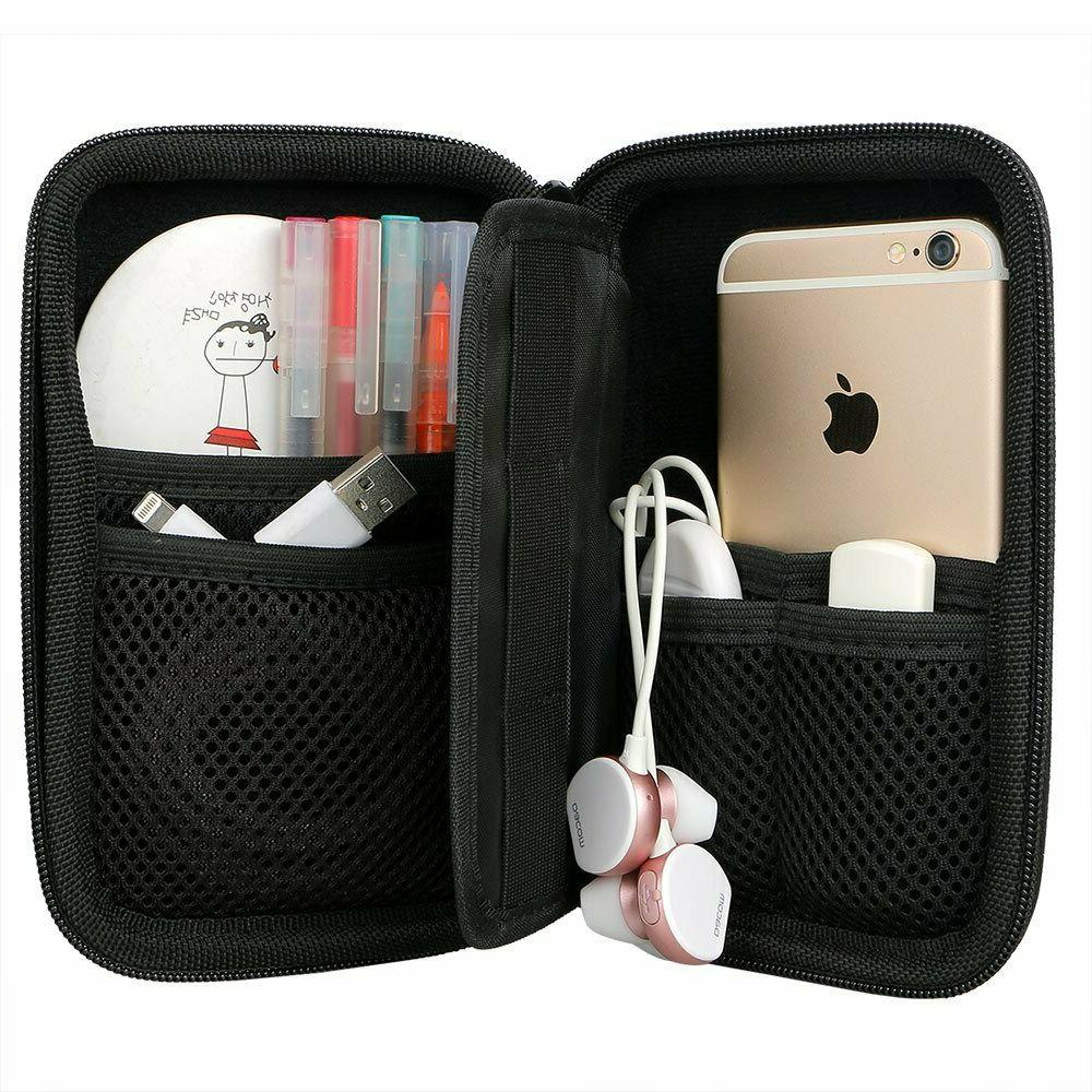 External Shockproof Travel 2TB Cary Case