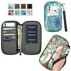 Family Travel Wallet Passport Holder RFID Blocking Document