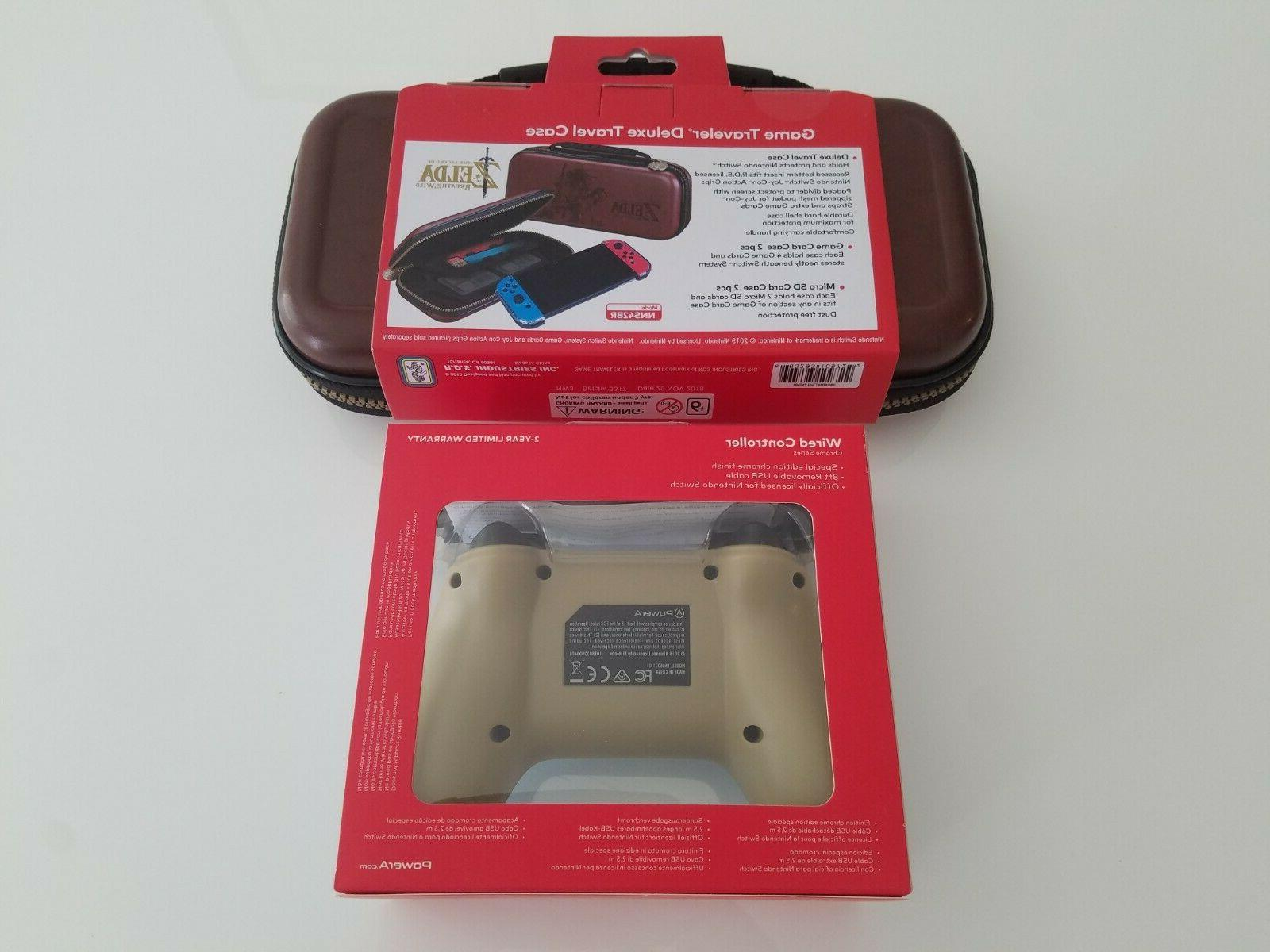 of the Case & Chrome PowerA Wired Controller