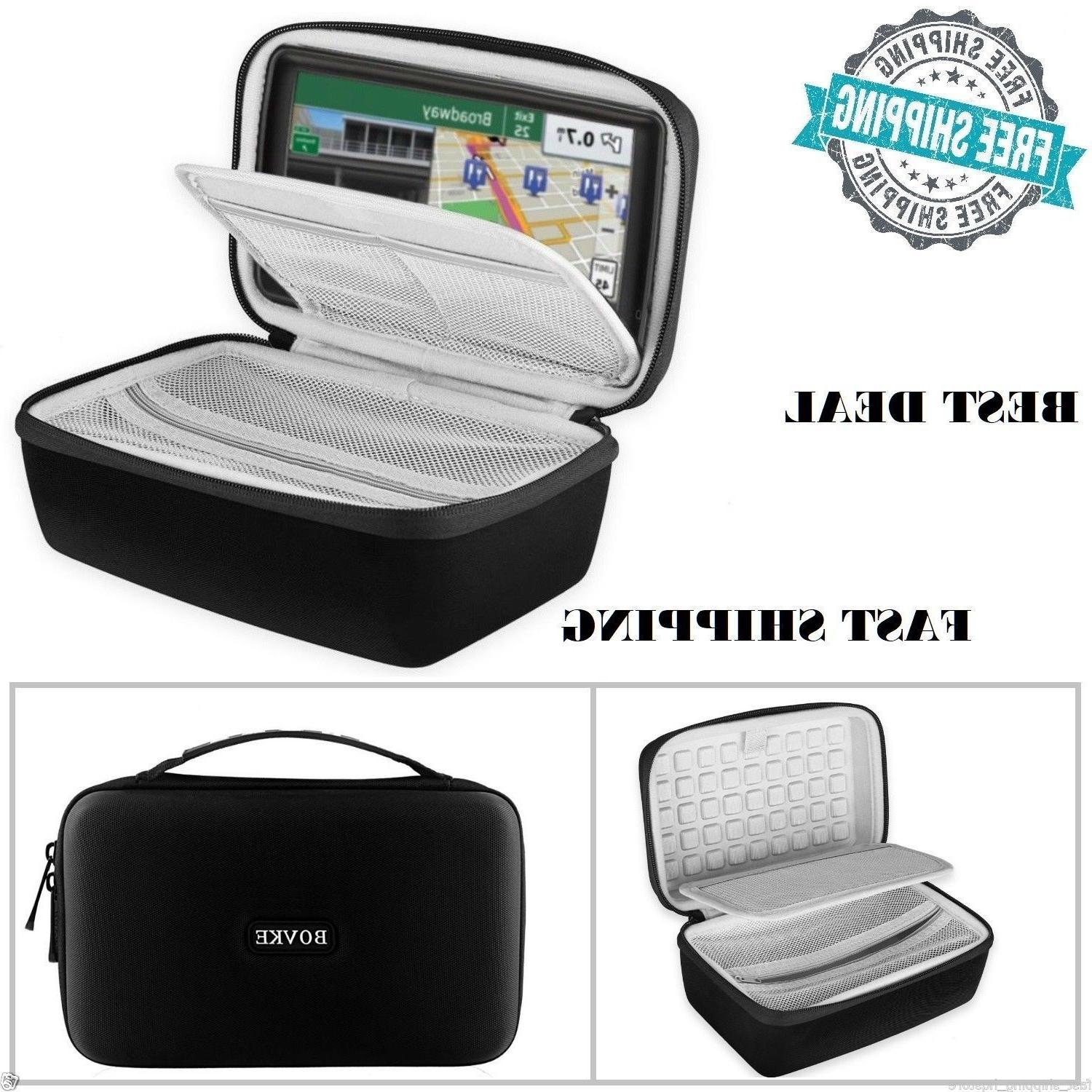 GPS Case 7 inch Hard Carrying Pocket Travel Pouch With Handl