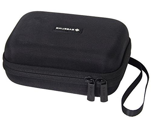 Caseling Carrying GPS Case for up 5-inch Screens. Garmin Nuvi, – Mesh Pocket USB Cable Charger -
