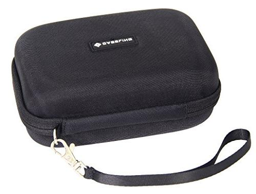 Caseling Hard Carrying Case for 5-inch Garmin Nuvi, – Mesh Pocket for USB Cable and Charger