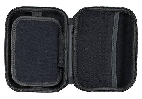 Case for up 5-inch Screens. for Nuvi, – for USB Cable Charger Black