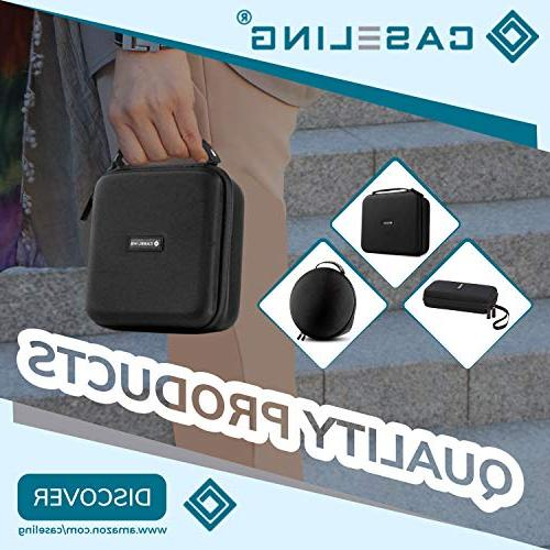 Caseling Carrying Travel External CD, Blu-ray and - Black