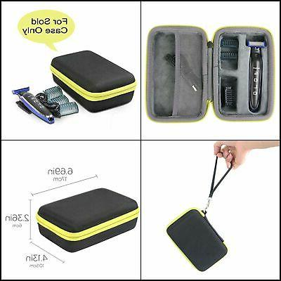 co2crea Hard Travel Case Replacement for Micro Touch SOLO Re