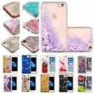 For iPhone 6 6s Plus Bling Hybrid Liquid Glitter Rubber Prot