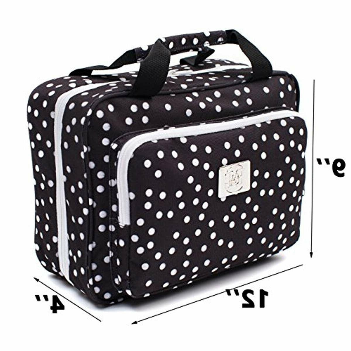 Large Versatile Cosmetic Bag Hanging Travel Toiletry Organizer